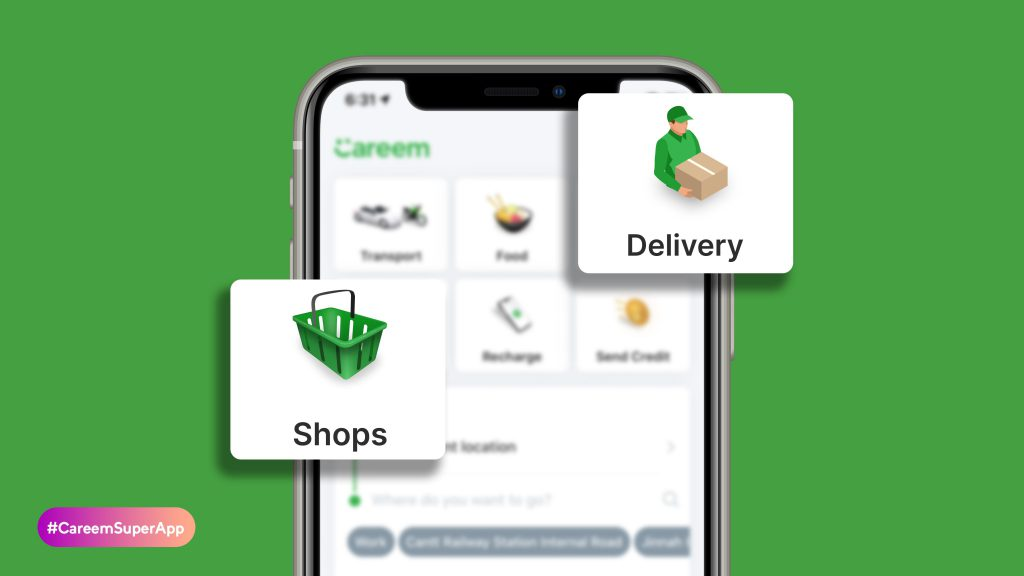 careem superapp كابتن كباتن كريم خدمة نقل Super App